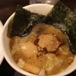 風雲児 - スープは鶏白湯+魚介系