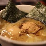 風雲児 - つけ麺は魚粉入り