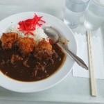 山頂レストラン 朝里ビュー - 唐揚げカレー¥1150?