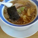 麺屋 一茶 - 醤油豚骨ラーメン 700円