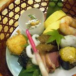 Nihonryourisetouchi - 籠の中の鳥…ではなく籠の中のお料理