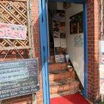洋風レストラン Soleil - 入り口のランチメニュー