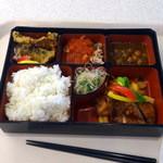 JICA東京食堂 - ワールドランチ850円