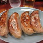 千里飯店 - 餃子4個 500円