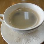 レイクサイドガーデン&カフェ - セットの珈琲 2014年12月
