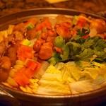 うしごろ 貫 - ホルモン味噌鍋