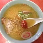 龍上海 - 料理写真:みそラーメン 750円