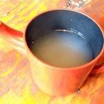 山居 - 蕎麦湯
