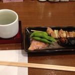 蔵元豊祝 - 豊祝セットのお酒をあらばしりに変更していただき、¥600(くらい?)