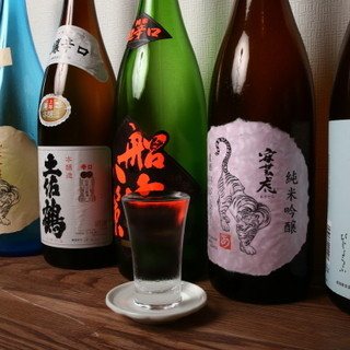 高知の料理には安芸虎や酔鯨など高知の酒が合う!