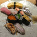 寿司勝 - 特上寿司。