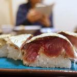 佐八 - さば寿司 860円
