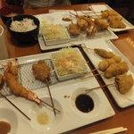串揚げ 起世 - 串カツ定食:串8本:ごはん・お味噌汁付き:730円 ※税込