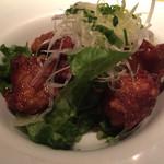鮮や一夜 - 若鶏の唐揚げ