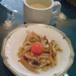ハナムラ - スープとなんじゃ茸マリネ