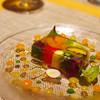 Ekura - 料理写真:ランチA(前菜)野菜とサーモンのプレッセ