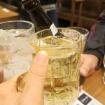 煮こみ  - ハイボールとノンアルビールと炭酸水で乾杯!