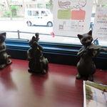 黒猫屋珈琲店 - 所々に猫が潜む(笑)クラシックな珈琲店6
