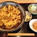 松よし - 小判かき揚げそば(温)(831円)
