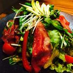 牛や 榮太郎 - 榮太郎サラダ ドレッシング最高