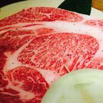 牛や 榮太郎 - リブロース