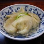一圓 - 一口餃子300円(茹でと焼きが選べます)
