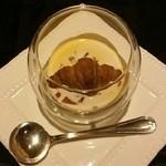 chez maeda - 前菜のかぼちゃスープ