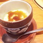 神楽坂 翔山亭 - デザートのプリン 美味しい!