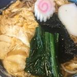 志波田 - フワフワの玉子とじ蕎麦(2015年1月)