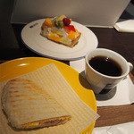 カフェ・コムサ - スペシャルセット(リニューアルオープン記念)