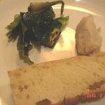 オステリア・ダ・クリハラ - ミニミニ前菜とパン
