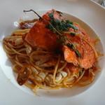 トスカーナの休日 - 渡り蟹のトマトソース