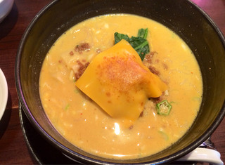 ユタの店 - 焼きチーズカレー担々麺