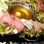 跳魚 - 桜ぶりと鱈と冬野菜の美人鍋
