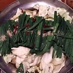 圭助 - 牛タン圭助 西葛西駅前 博多もつ鍋 醤油味で 1,260円  写真は2人前