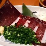 圭助 - 牛タン圭助 西葛西駅前 鯨の紅白刺身 980円