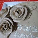 洋菓子舗ウエスト - 誕生日ケーキ