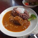 農園カフェ ラビット - 料理写真:猪のジビエカレー