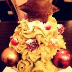 アカシエ・サロン・ド・テ - クリスマスツリー!
