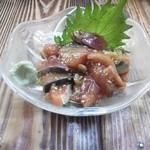 相撲鳥 - ごま鯖
