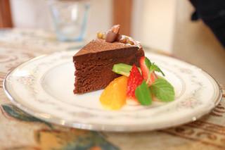 さんぽ道 - チョコレートケーキ☆