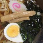 登竜 - しょうゆラーメン 餃子のセット 半チャーハン 2014年12月