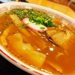 ラーメン 南龍軒 - こんな時間ですが… 紀ノ川SAです  和歌山ラーメン ¥730