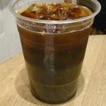 ホノルルコーヒー - アイスコーヒー(Mサイズ)税込370円