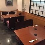 酒律 大井 - 手前テーブル