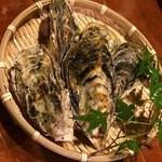 にこまん馬 - 料理写真:牡蠣小屋