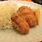 め乃惣 - 牡蠣フライ (2014/11)