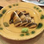 ふじ本 - 穴子の醤油漬け焼