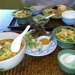アジアンキッチン サワディー - ランチセットをオーダー