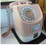 33498274 - 懐かしのピンク電話